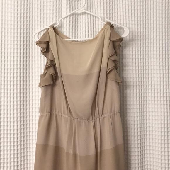 b8a588628002 LOFT Dresses   Skirts - Tan Semi-Formal Dress